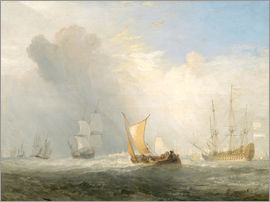 Joseph Mallord William Turner - Rotterdam Ferry-Boat