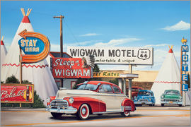 Georg Huber - Route 66 Wigwam Motel
