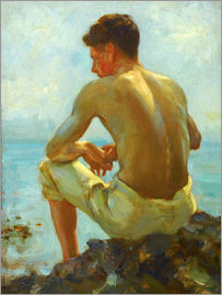 Henry Scott Tuke - Rowing in the shade