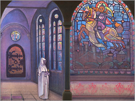 Nicholas Roerich - Glory to the hero
