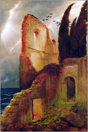 Arnold Böcklin - Ruin by the Sea
