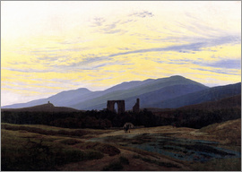 Caspar David Friedrich - Eldena Ruin