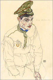 Egon Schiele - Russian War Prisoner