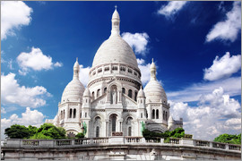 Sacre Coeur Cathedral on Montmartre