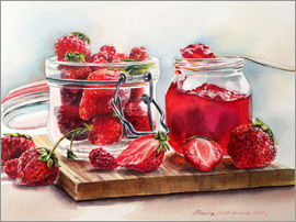 Maria Mishkareva - Juicy strawberries
