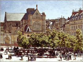 Claude Monet - Saint-Germain l'Auxerrois