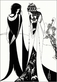 Aubrey Vincent Beardsley - Salome with her mother, Herodias