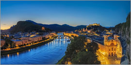 Dieter Meyrl - Salzburg at blue hour - sunrise