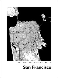 44spaces - San Francisco City Map HF 44spaces