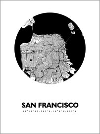 44spaces - San Francisco City Map HFR 44spaces