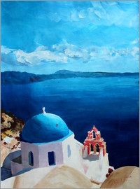 M. Bleichner - Santorini - View from Oia
