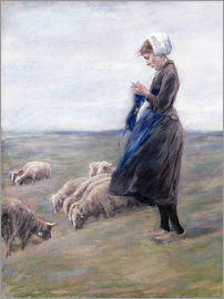 Max Liebermann - Shepherdess