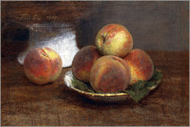 Henri de Fantin-Latour - Bowl with Peaches