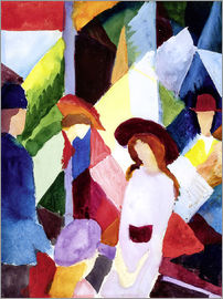 August Macke - Store window
