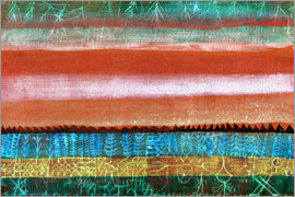 Paul Klee - Layered Landscape
