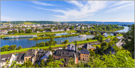 Dieterich Fotografie - Ships on the Moselle River in Trier