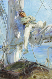 Henry Scott Tuke - Sleeping Sailor