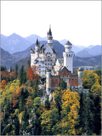 Ric Ergenbright - Neuschwanstein Castle in autumn
