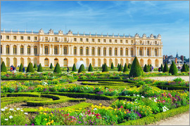 Castle Garden of Versailles