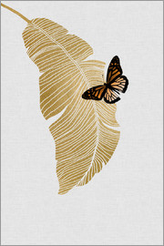 Orara Studio - Butterfly & Palm