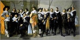 Frans Hals - Protect from the neighborhood XI under command of Captain Reynier Reae