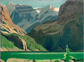 James Edward Hervey MacDonald - Lake O'Hara