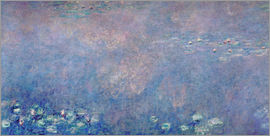 Claude Monet - Waterlilies: Two Weeping Willows (detail)