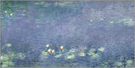 Claude Monet - Waterlilies: Morning
