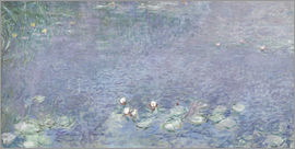 Claude Monet - Waterlilies, Morning 2
