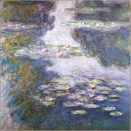Claude Monet - Waterlilies, Nympheas