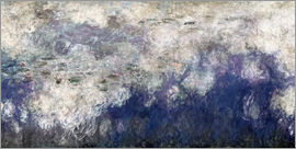 Claude Monet - Waterlilies panel B