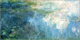 Claude Monet - Waterlilies, panel C II.