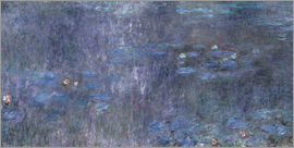 Claude Monet - Water Lilies, Reflection of trees 2