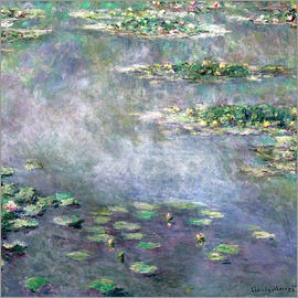 Claude Monet - lily pond