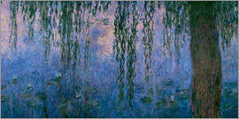 Claude Monet - Lily pond with Weeping Willow