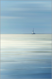 Filtergrafia - Sailboat on the sea