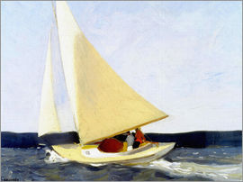Edward Hopper - sailing