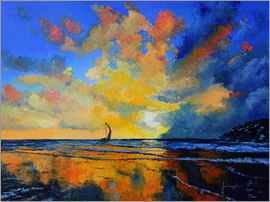 Jean-Marc Janiaczyk - Sail under sunset Kopie