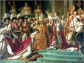 Jacques-Louis David - The Consecration of the Emperor Napoleon and the Coronation of the Empress Jose (detail)