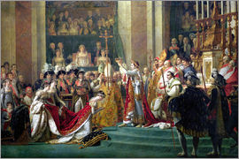 Jacques-Louis David - The Consecration of the Emperor Napoleon