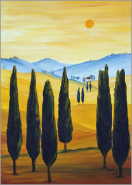 Christine Huwer - Longing for Tuscany