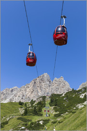 Gerhard Wild - Cable car Frara, blue sky