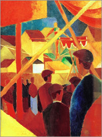 August Macke - Tightrope walker