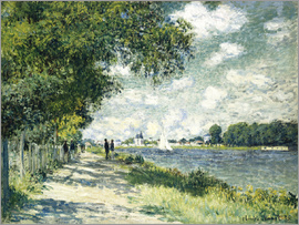 Claude Monet - Seine at Argenteuil