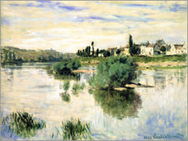 Claude Monet - The Seine near Lavacourt