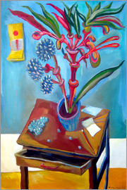 Diego Manuel Rodriguez - Table and plant