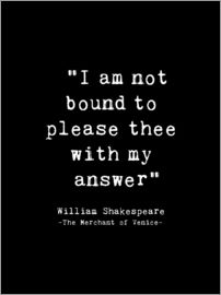 Andrea Haase - Shakespeare Quote