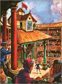 Peter Jackson - Shakespeare performing at the Globe Theatre