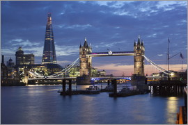 Stuart Black - The Shard et Tower Bridge la nuit
