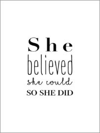 Finlay and Noa - She Believed She Could So She Did